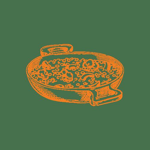 illustraties paella